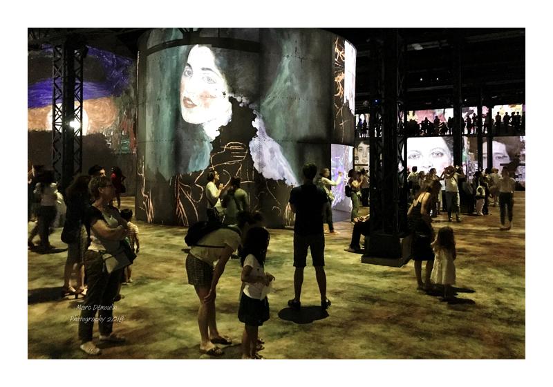 Light Show in lAtelier des Lumières Paris 2018 - 5