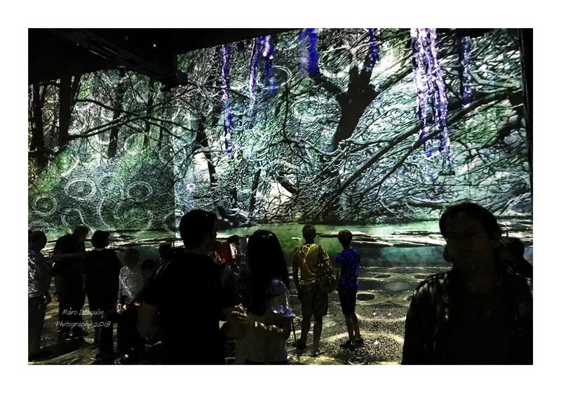 Light Show in lAtelier des Lumières Paris 2018 - 6
