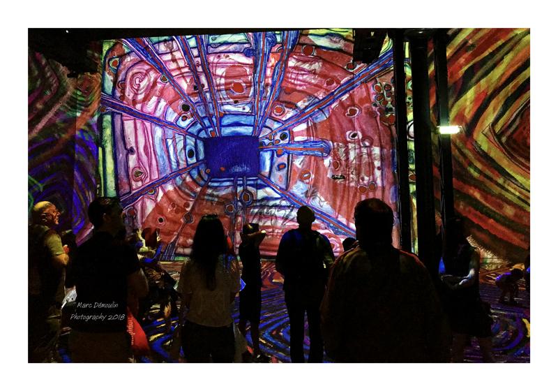 Light Show in lAtelier des Lumières Paris 2018 - 7