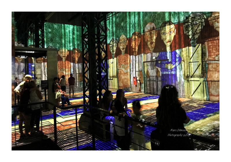 Light Show in lAtelier des Lumières Paris 2018 - 9