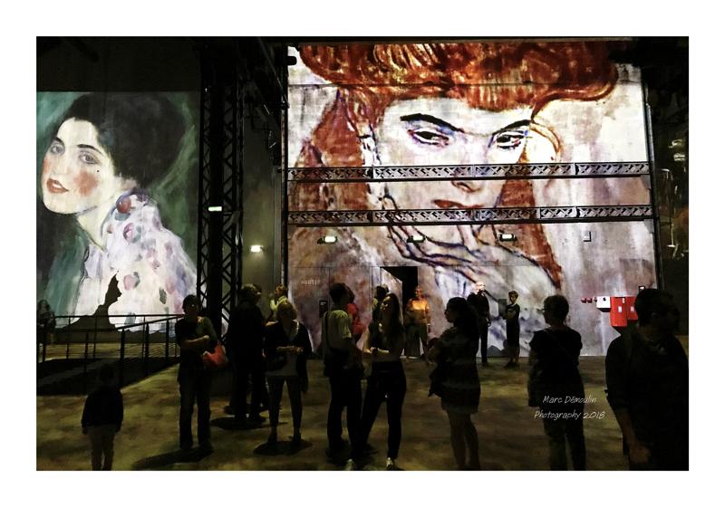 Light Show in lAtelier des Lumières Paris 2018 - 11