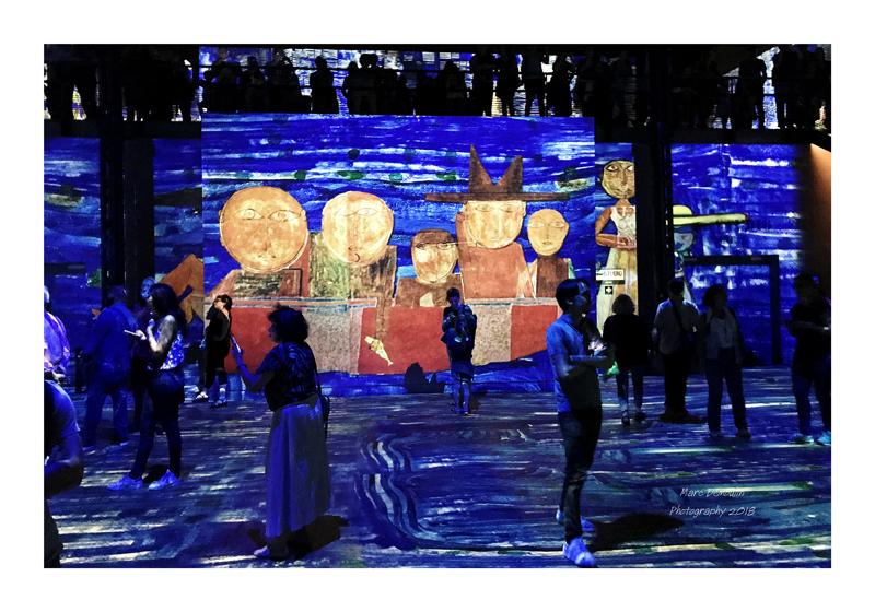 Light Show in lAtelier des Lumières Paris 2018 - 16