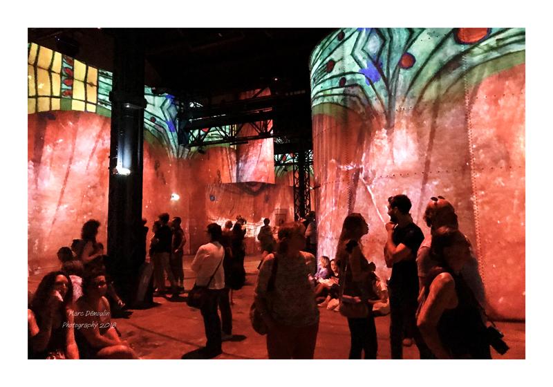 Light Show in lAtelier des Lumières Paris 2018 - 26