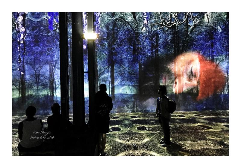 Light Show in lAtelier des Lumières Paris 2018 - 38