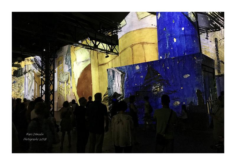 Light Show in lAtelier des Lumières Paris 2018 - 39