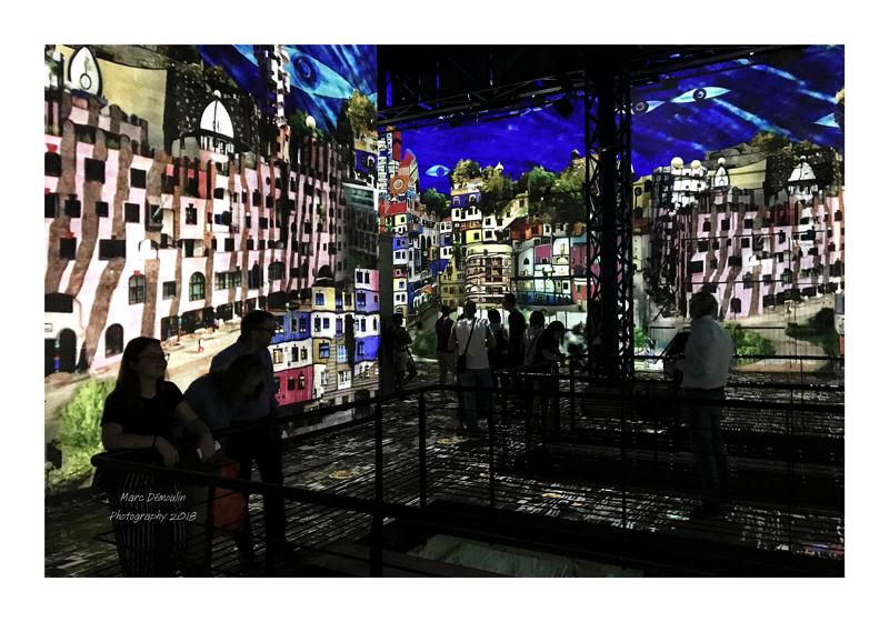 Light Show in lAtelier des Lumières Paris 2018 - 43