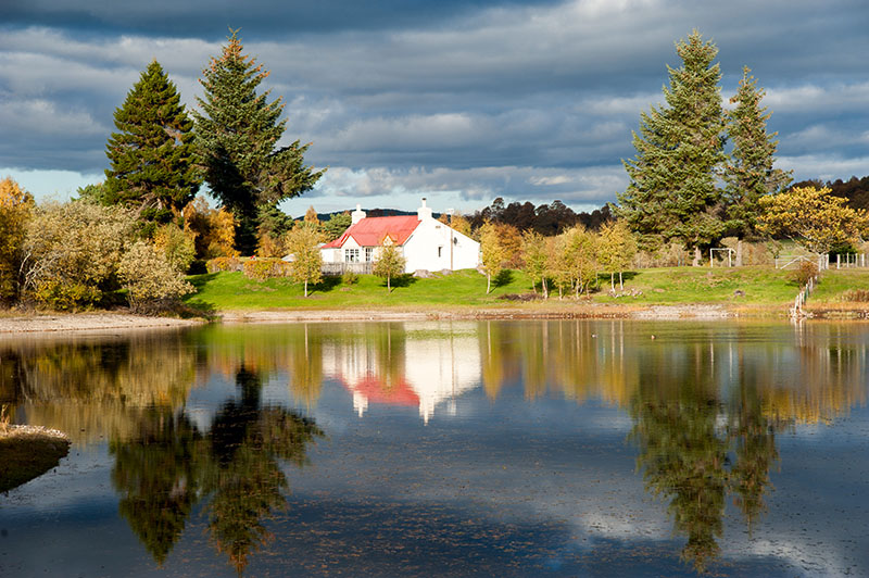 15th October 2018 <br> house by the lochan