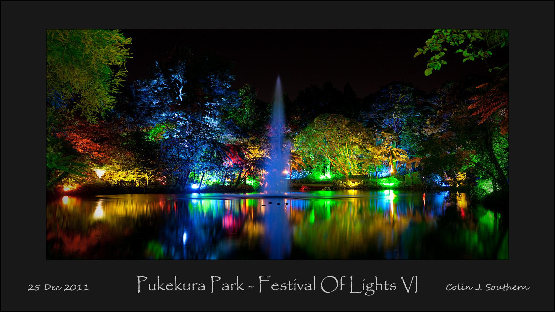 Festival of Lights - Pukekura Park - New Plymouth, NZ
