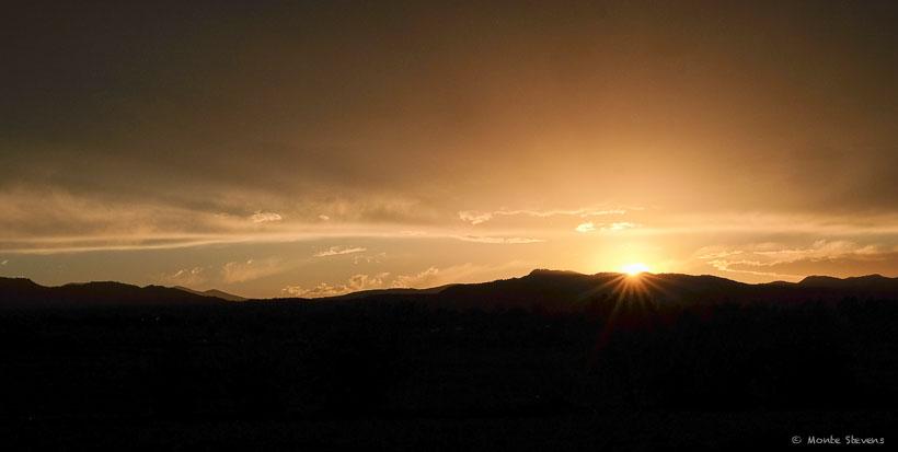 Last Nights Colorado Sunset
