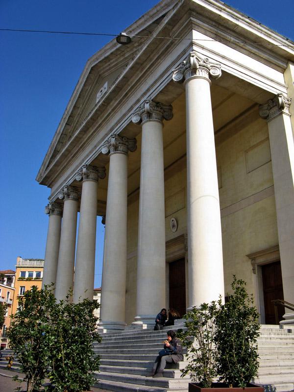 Duomo, Classical porch <br />9087