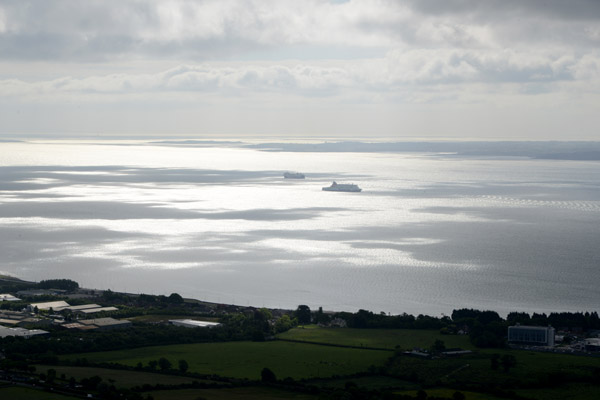 View of Belfast Lough from the Knockagh Monument