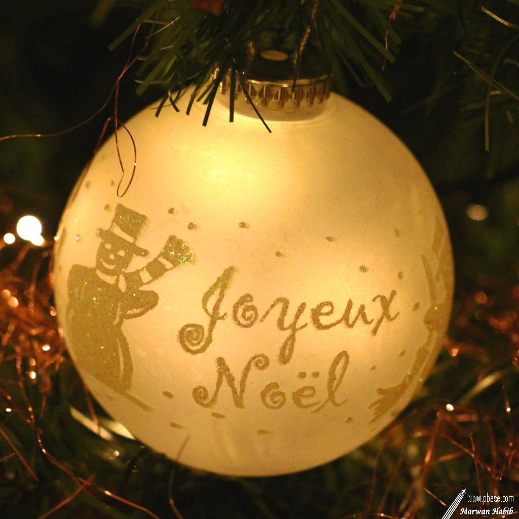 Yellow Christmas / Noël Jaune
