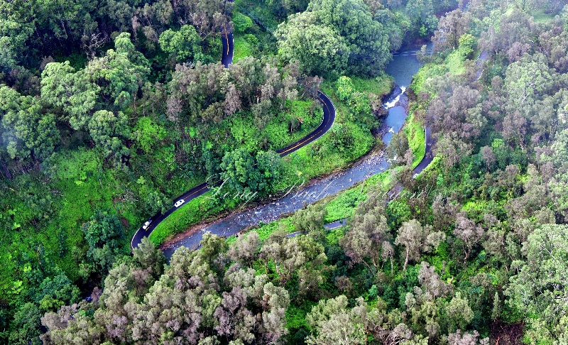 Hana Highway across Kopiliula Stream, Maui, Hawaii 150