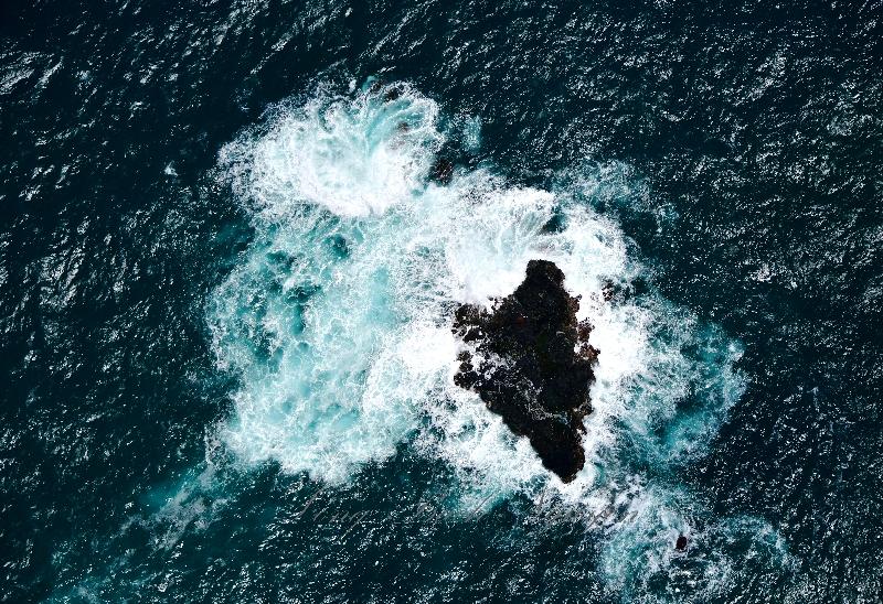 Moku o Kau Island, NE Hanawana Point, Maui, Hawaii 413