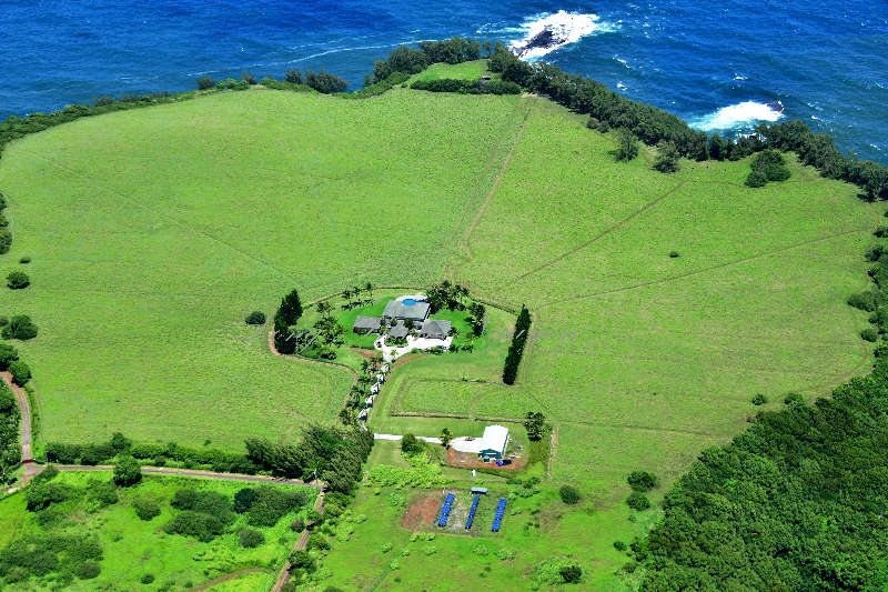 The house at the Haumana Road, Keallii Point, Uaoa Bay, Maui, Hawaii 368