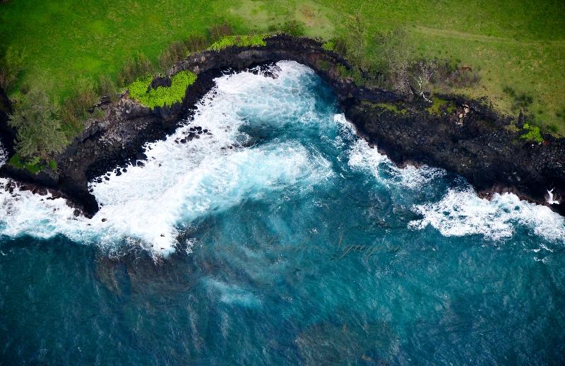 Crashing Waves by Lehoula Beach, Hana, Maui, Hawaii 368