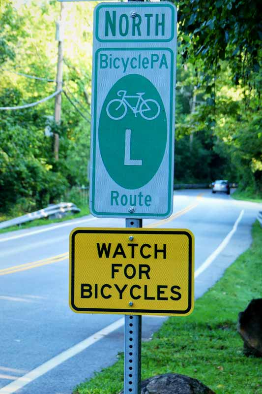 """""""Bicycle Steer Clear Law"""