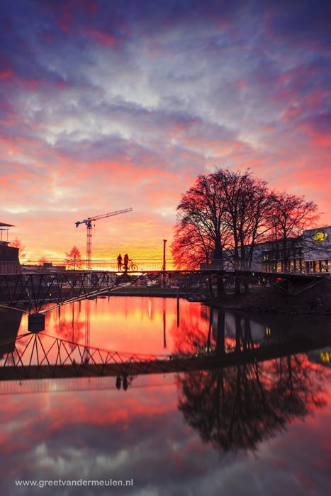 2N9B6517 Zwolle sunset