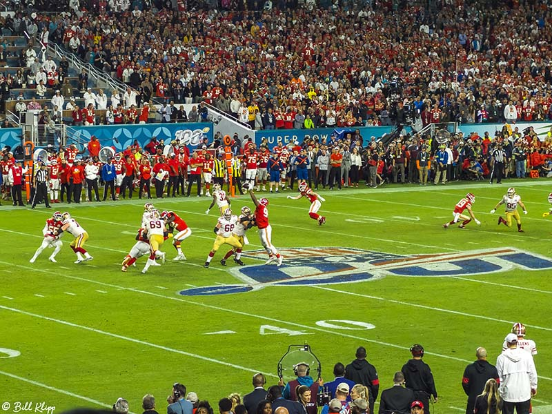 Super Bowl 54, San Fran 49ers vs Kansas City Chiefs  2