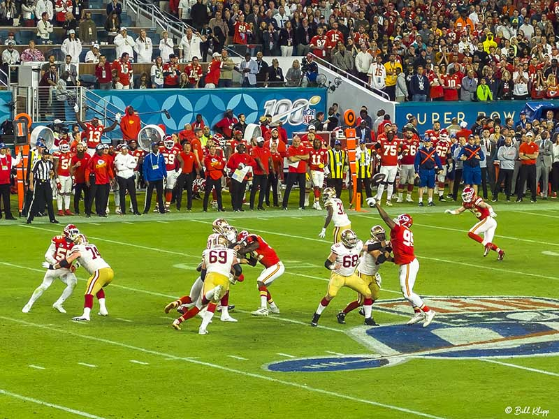 Super Bowl 54, San Fran 49ers vs Kansas City Chiefs  3