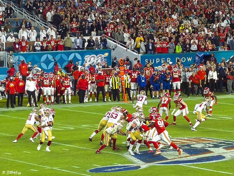 Super Bowl 54, San Fran 49ers vs Kansas City Chiefs  5