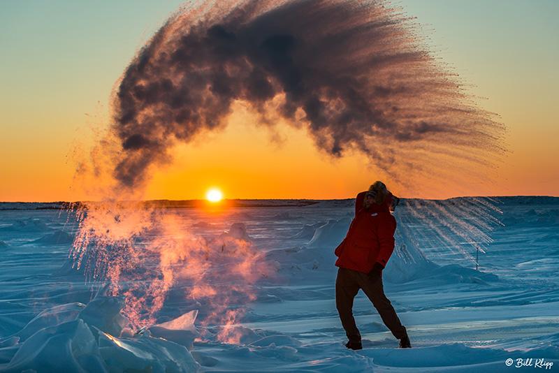 Sunset Snow Shower  2
