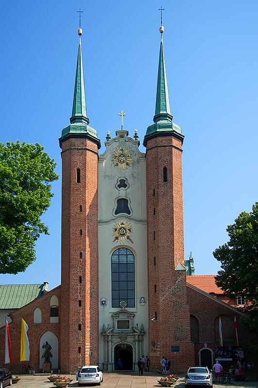 Archcathedral In Gdansk Oliwa