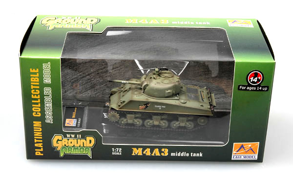 Bat Tanque 10. Medio Tanque M4A3 Trumpeter Easy Model 36254