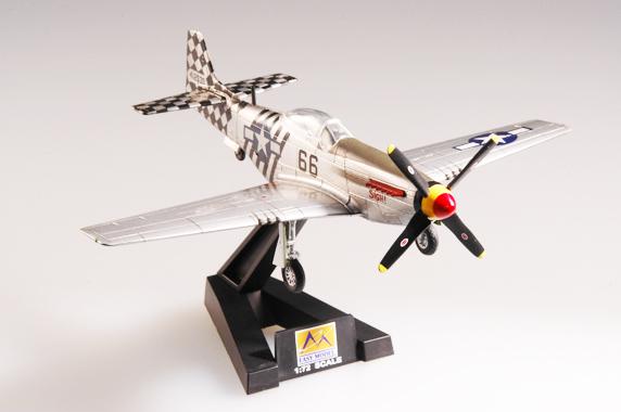 Easy Model 37295-1//72 us p-51d india 1945-nuevo