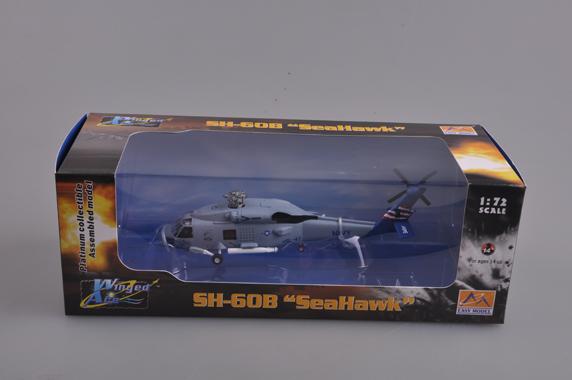 HELICOPTERE SH-60B SEAHAWK HSL-47 SABERHAWKS Die-cast EASY MODEL 1//72 n° 37089