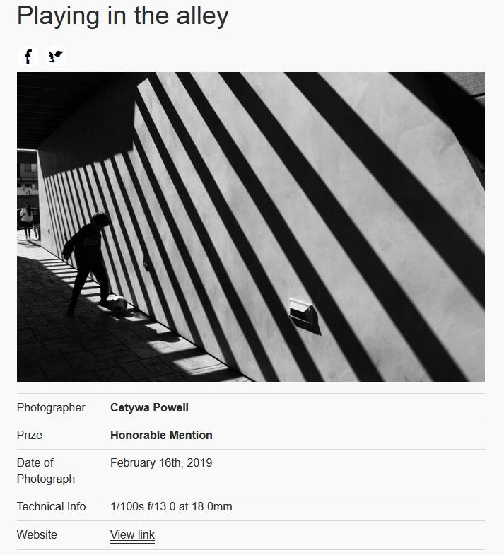 International Photography Awards: One Shot