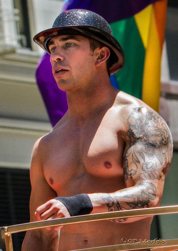 Proud Fireman