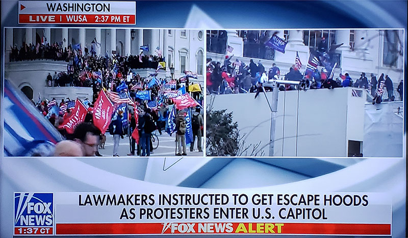 Insurrection at the Capital