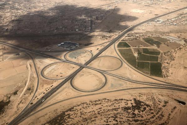 Riyadh Road from Al-Arfa Exit, Taif, Saudi Arabia
