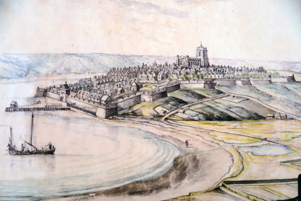 Artists impression of Old Derry