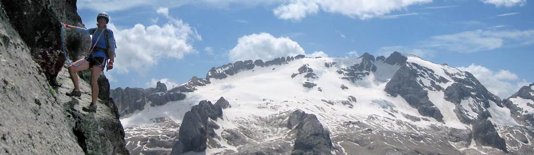 Martina Via Ferrata Dolomites