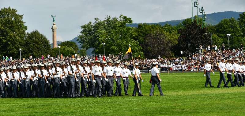 Pass in Review at West Point Military Academy, New York 521