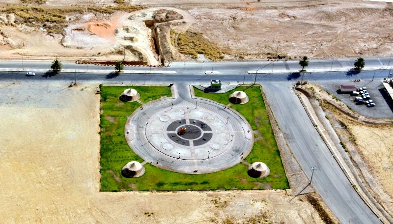 Park along Saudi Highway 65, Al Ghat, Riyadh Region, Kingdom of Saudi Arabia 473
