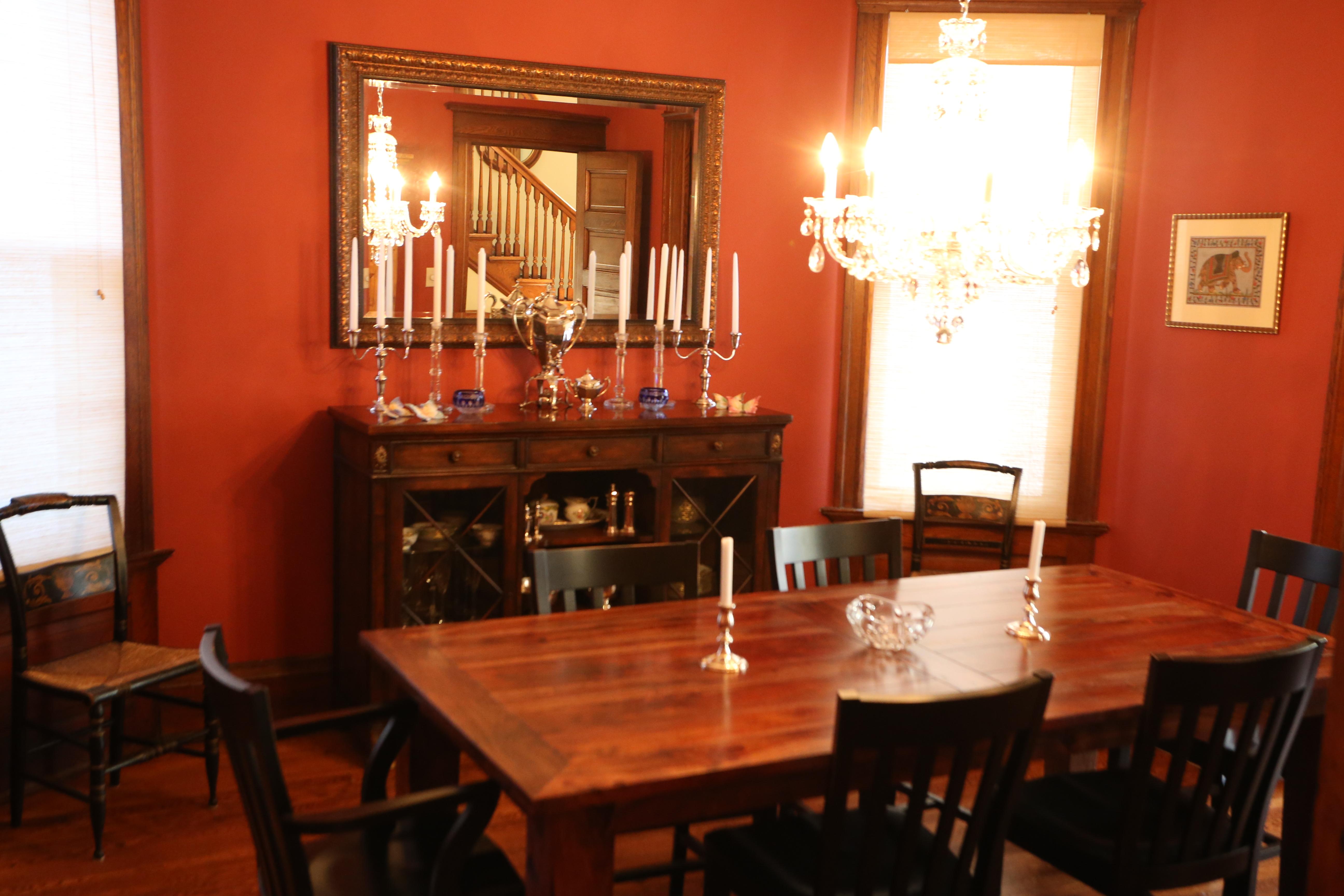 Dining room from kitchen door