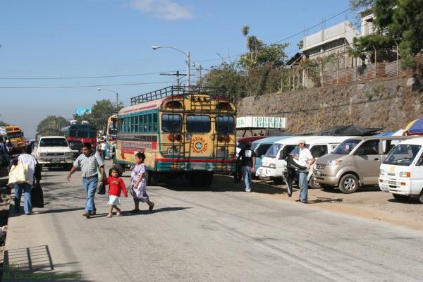 La Ruta Antigua al Oceano Pacifico Atraviesa la Cabecera