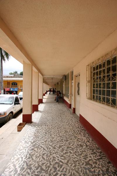 Pasillo del Edificio Municipal