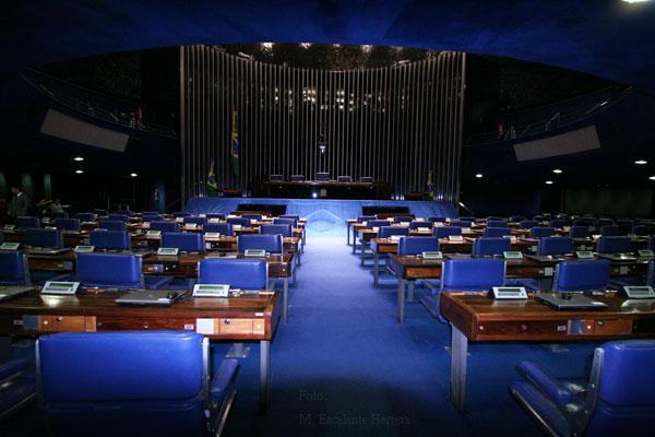 Interior del Senado de la Republica