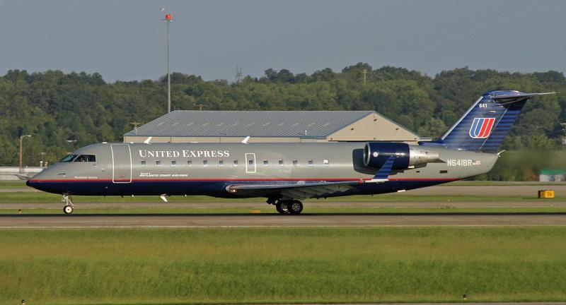 United Express N641BR