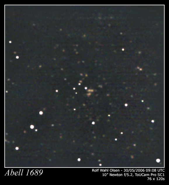The massive and very distant Abell1689