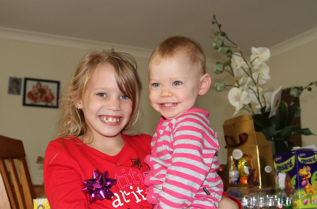 Jorja and Zoe
