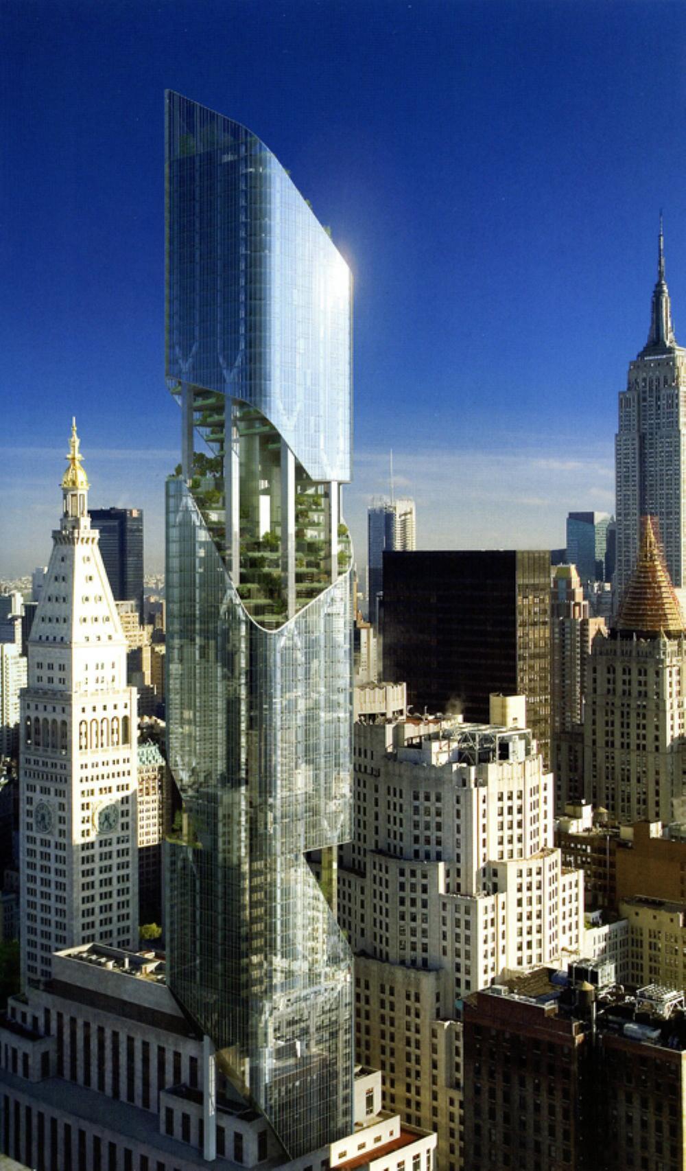 One Madison New York New York  One Madison Avenue  937 Ft  285.6 M  74 Floors