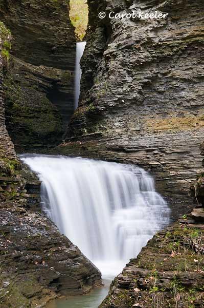 Cascade Before Cavern Cascade Waterfall