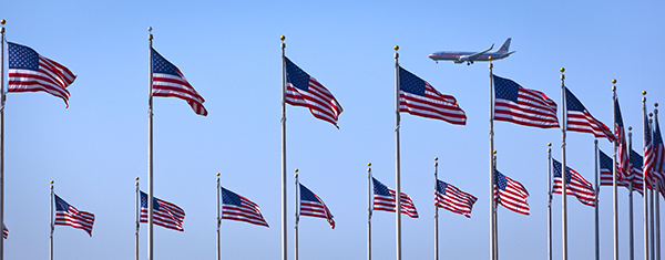 On Approach-Flags Of The Washington Monument