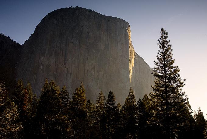 Early Light On El Capitan