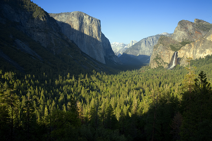 Tunnel View-Early Evening